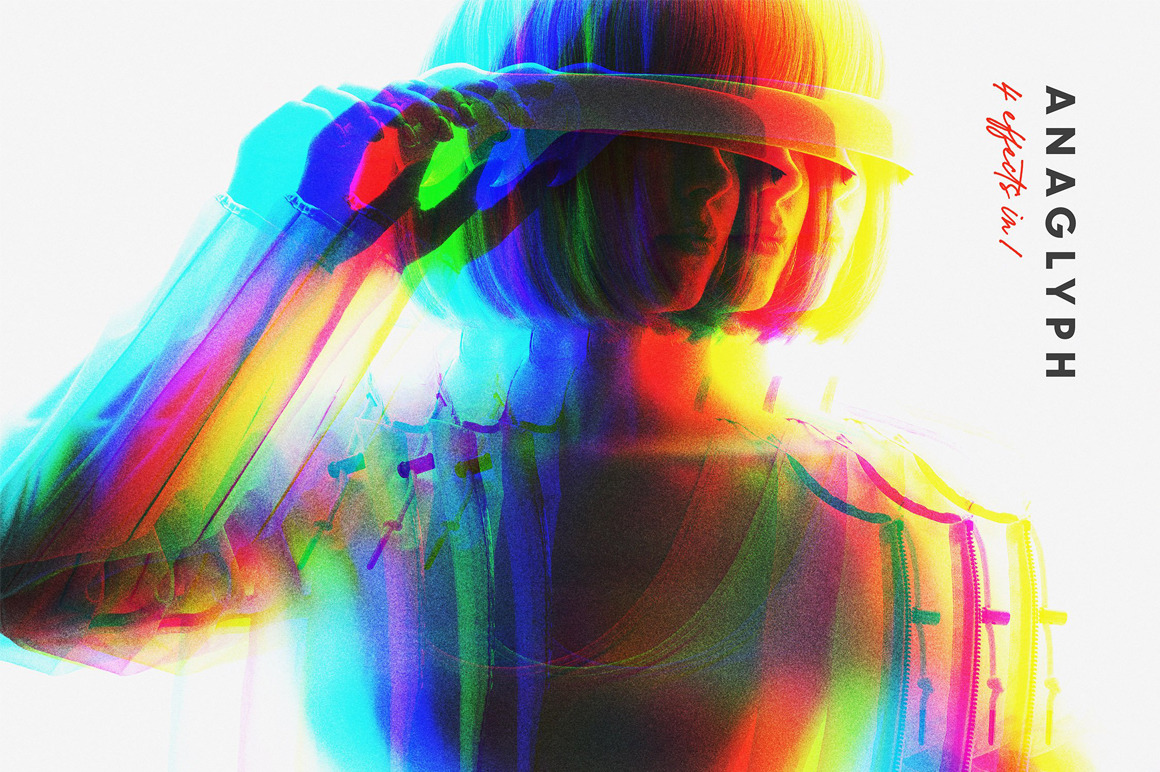 Anaglyph Filter Photo Effect