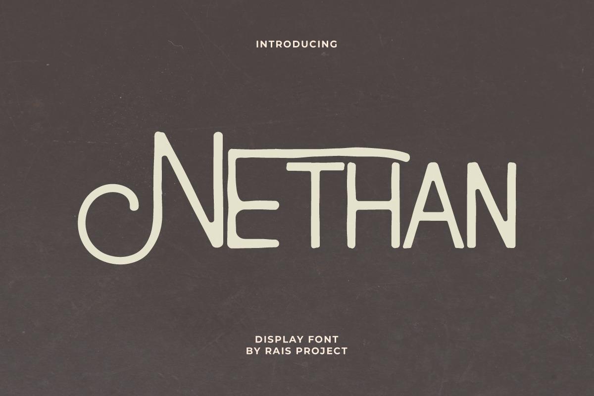 Nethan Vintage Font