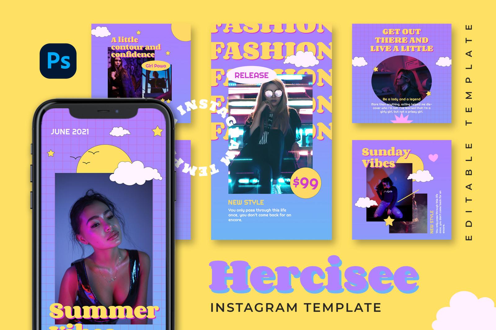 Hercisee Instagram Template