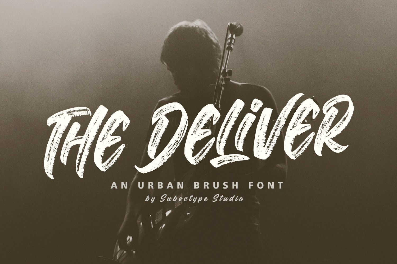 The Deliver - Urban Brush Font