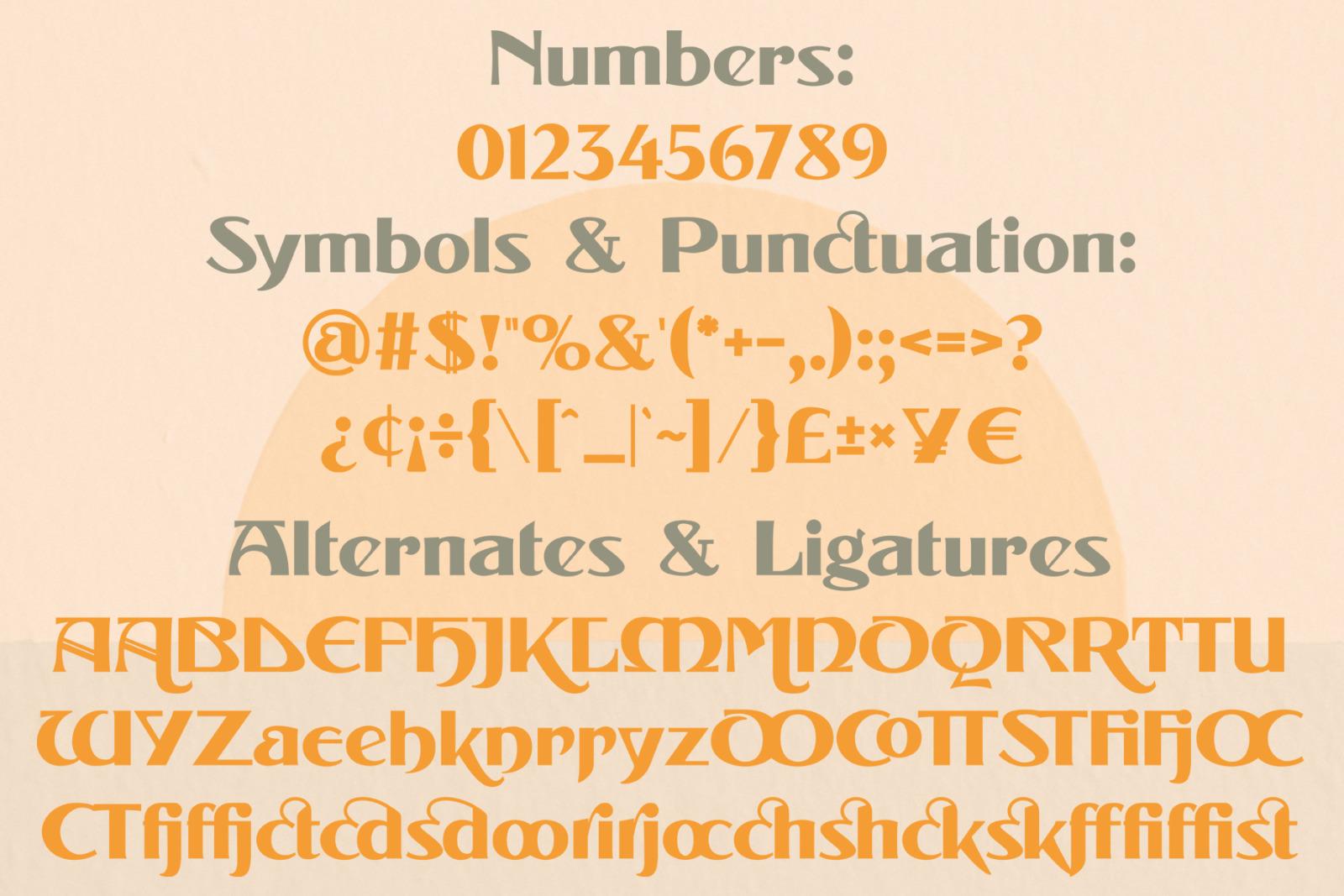 Landman Font