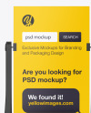 Portable Banner Stand Mockup