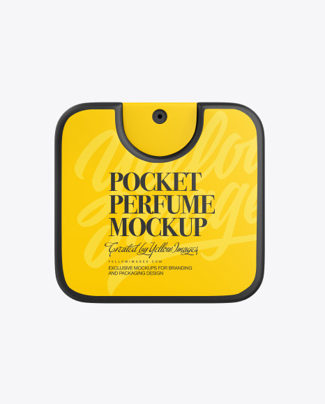 Pocket Perfume Mockup