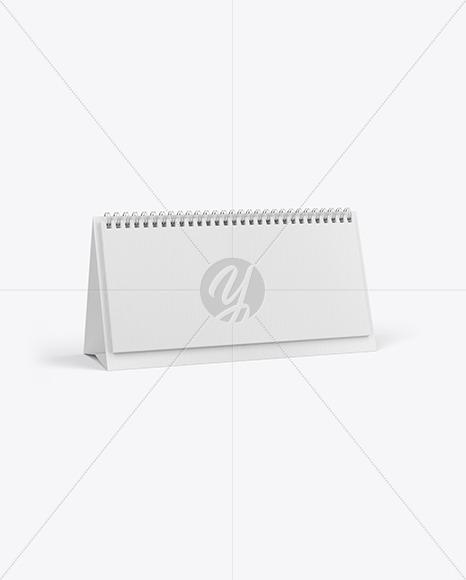 Desk Calendar Mockup