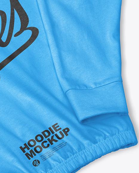 Hoodie Mockup – Half Side View