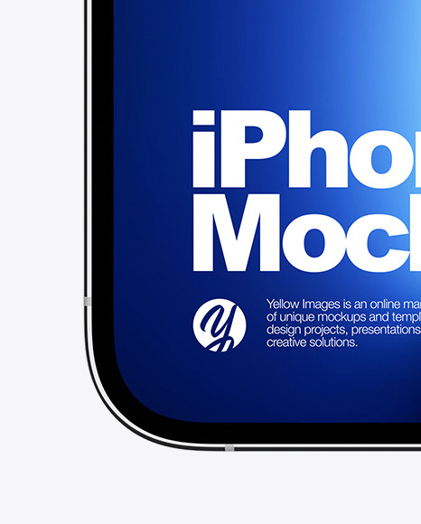 iPhone 13 Pro Frontal Mockup