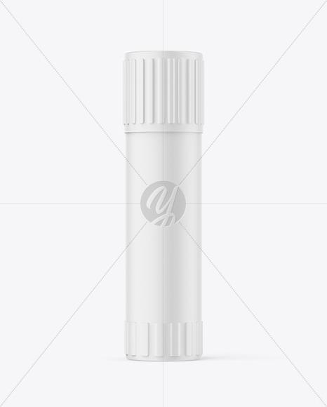 Matte Plastic Glue Stick Mockup