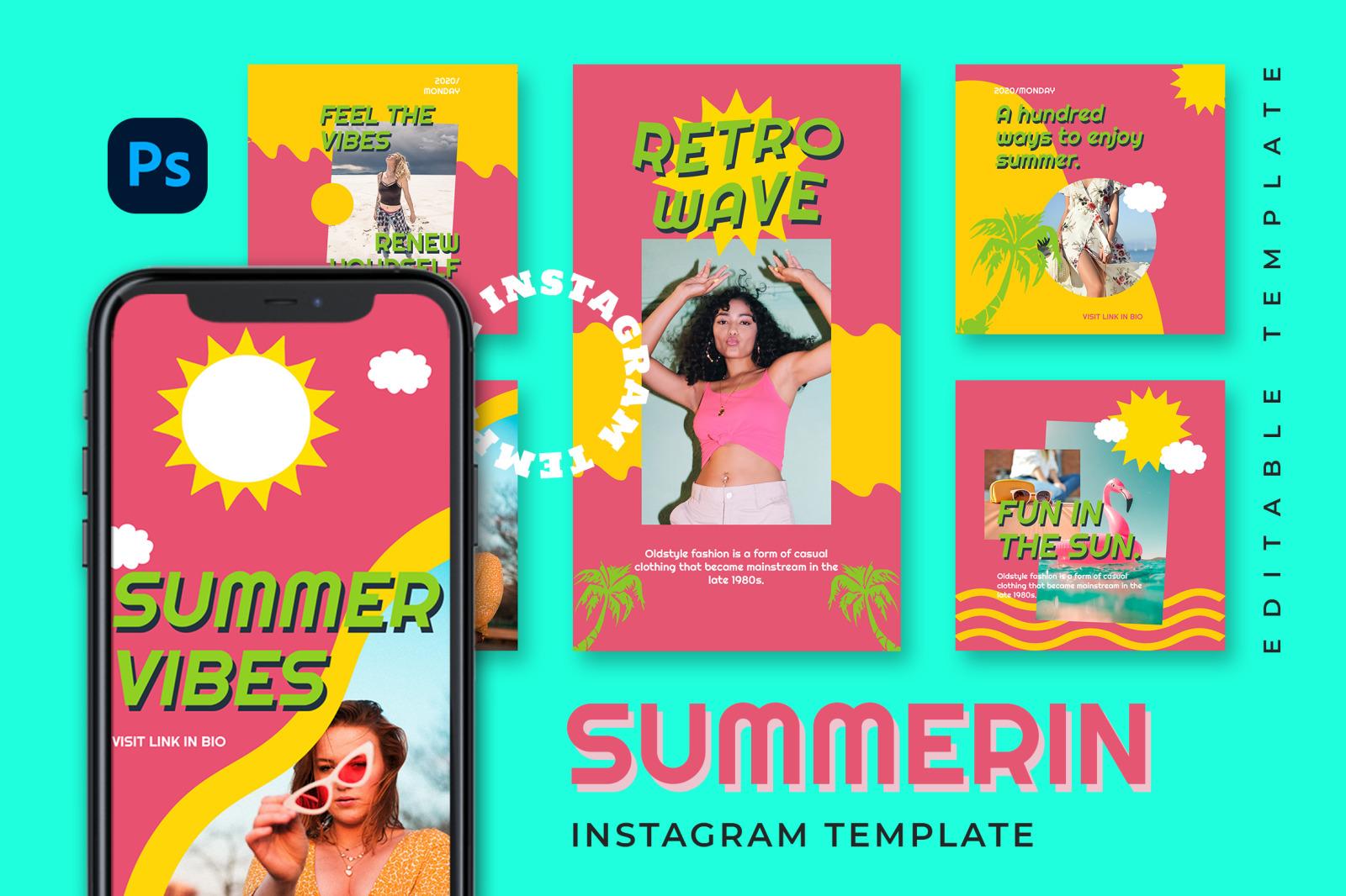 Summerin Instagram Template