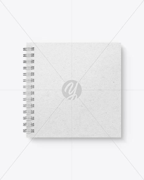 Kraft Paper Notebook Mockup