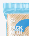 Glossy Pack with Wafer Mockup