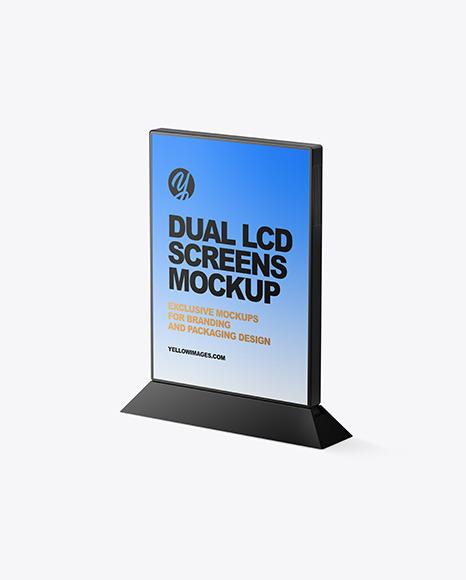 Digital Table Stand Mockup