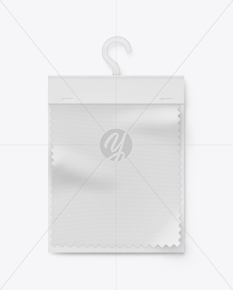 Swatch Card w/ Paper Cover Mockup