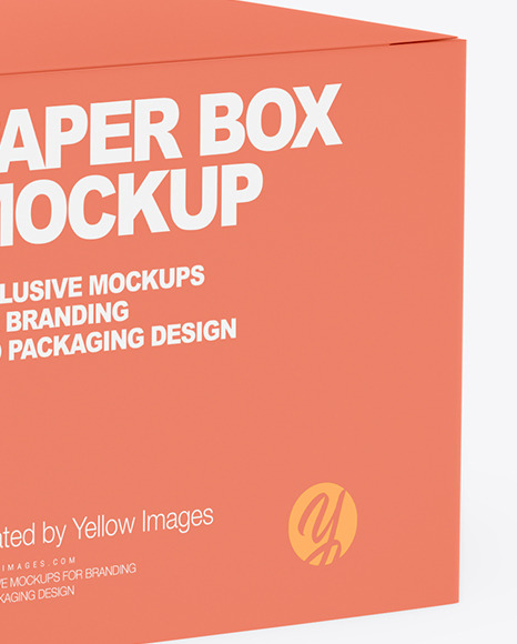 Glossy Cosmetic Jar with Paper Box Mockup