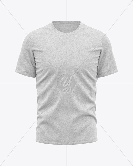 Heather T-Shirt Mockup