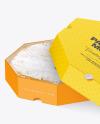 Cheese Paper Box Mockup