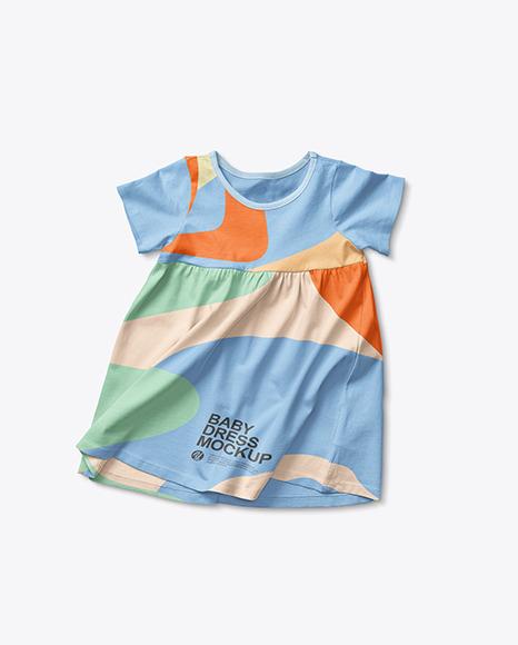 Baby Girl Dress Mockup