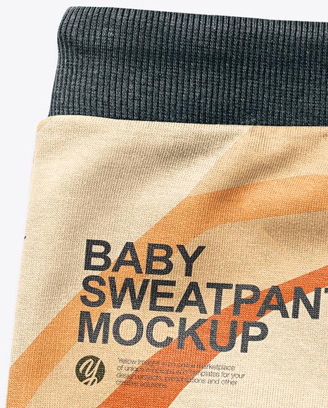 Baby Boy Sweatpants Mockup