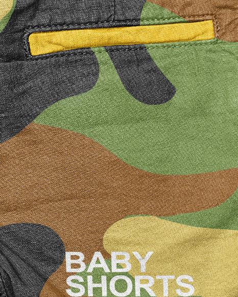 Baby Boy Shorts Mockup
