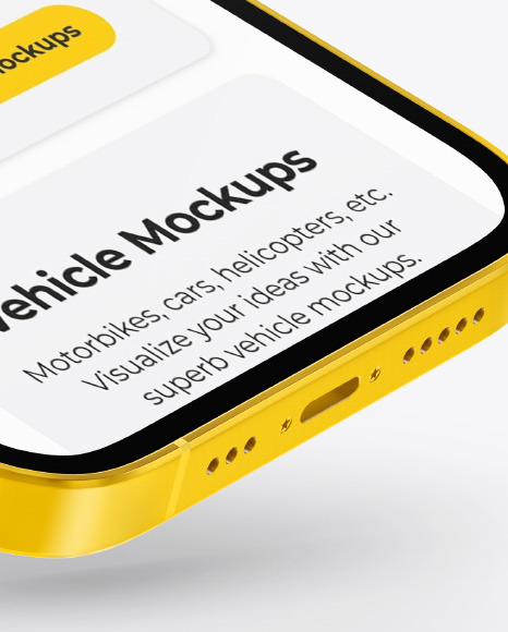 Clay Apple iPhone 12 Pro Max Mockup