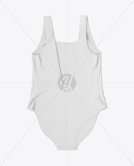 Swimsuit Mockup - Back View