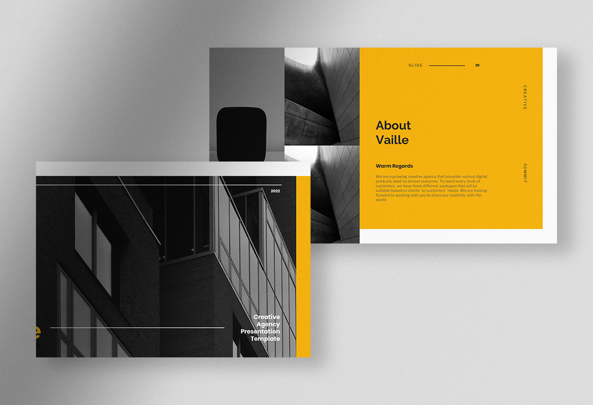 Vaille - Professional Creative Agency Presentation