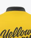 Polo Shirt Mockup - Back View