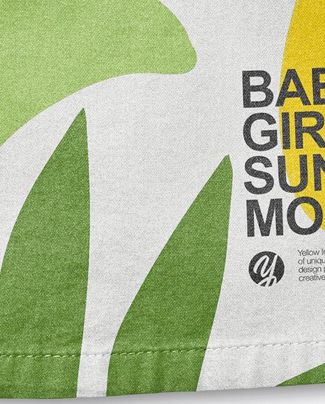 Baby Girl Sundress Mockup