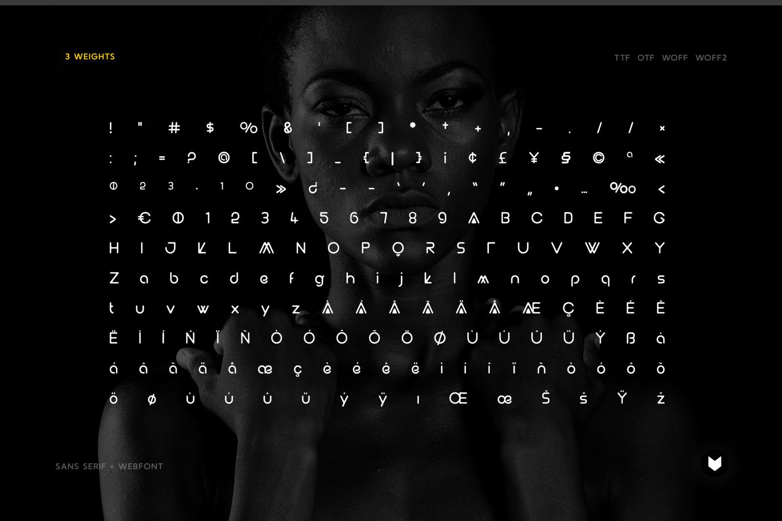 Awaria Display Typeface
