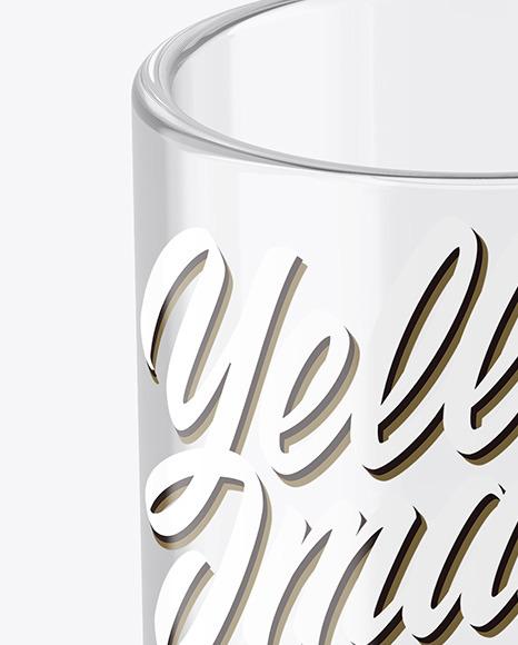 Clear Glass Mug Mockup