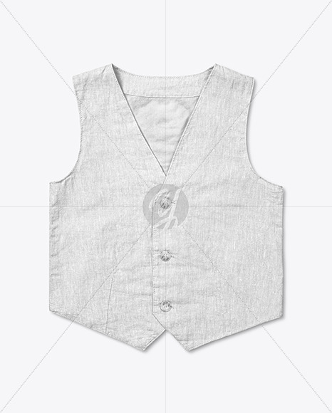 Baby Boy Vest Mockup