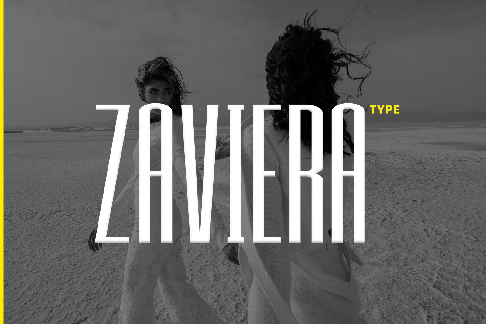 ZAVIERA Font
