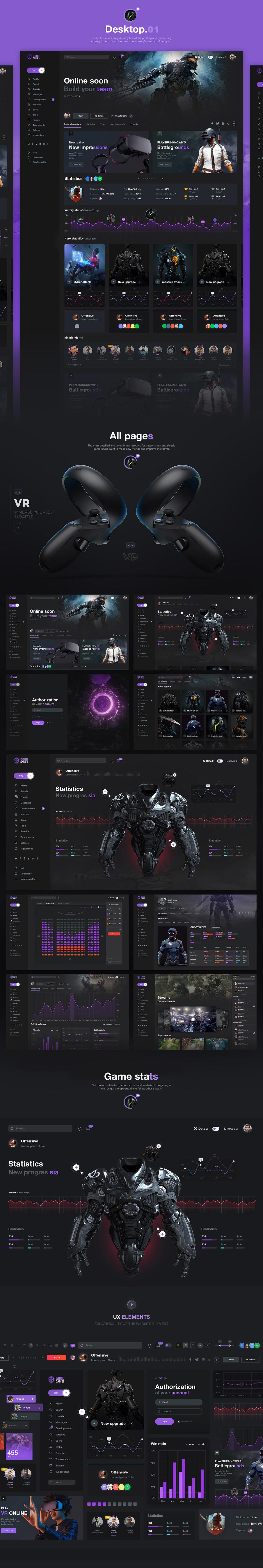 Good games UI kit