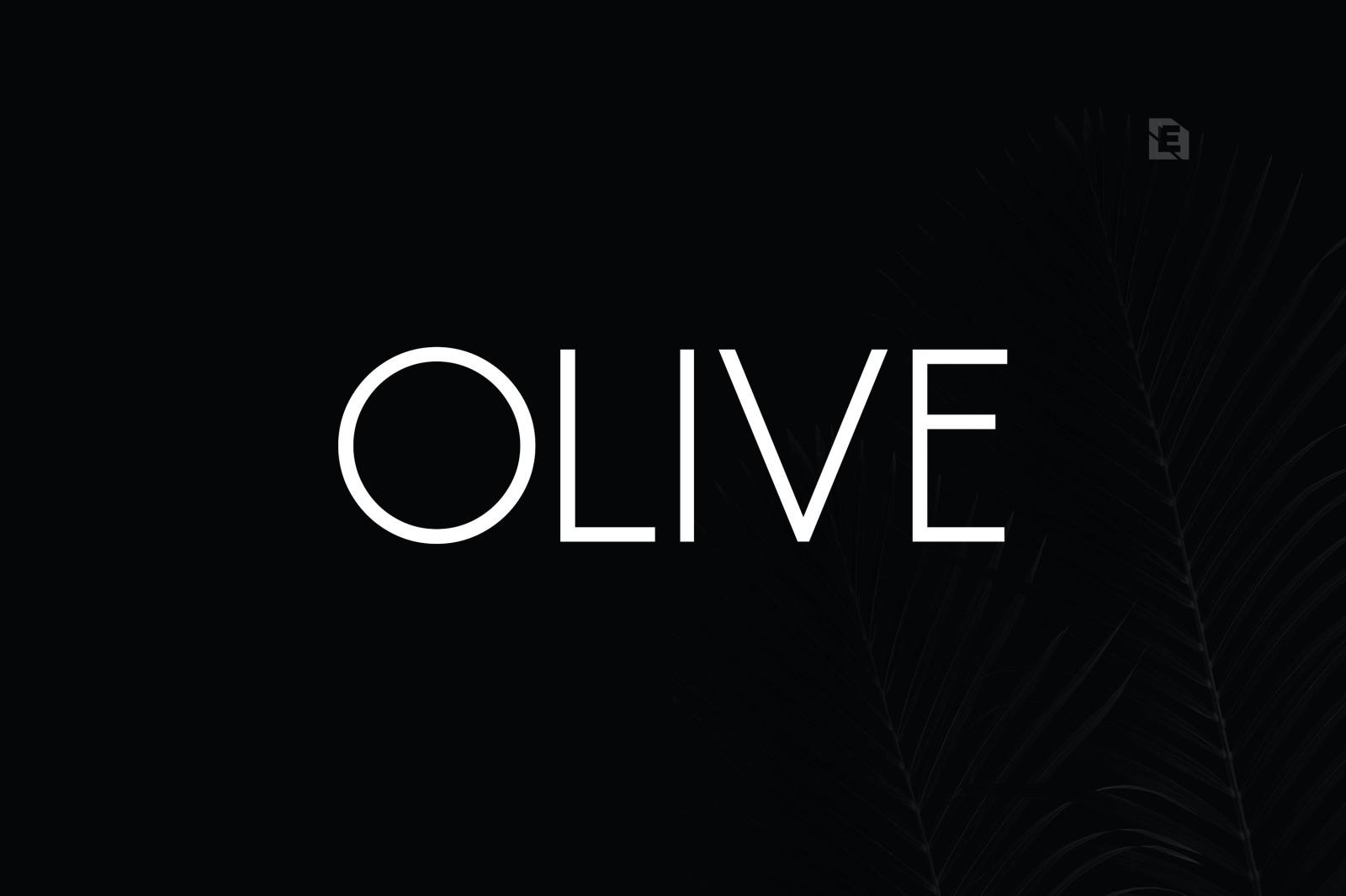 Olive Font