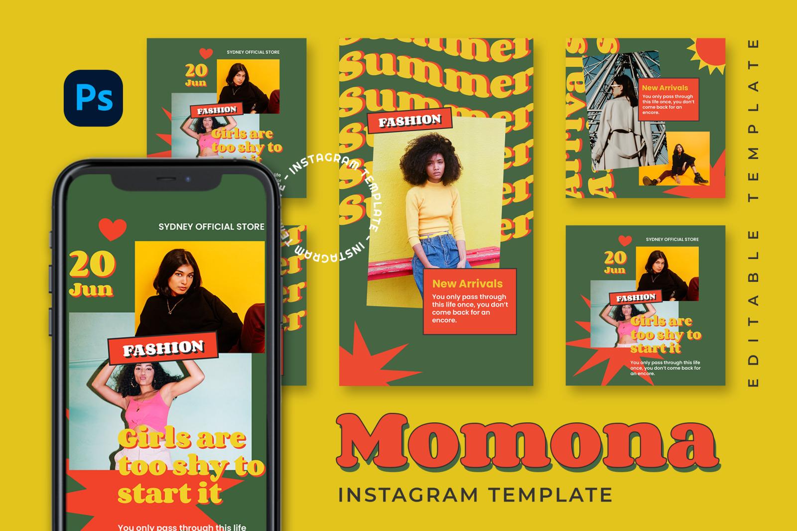 Momona Instagram Template