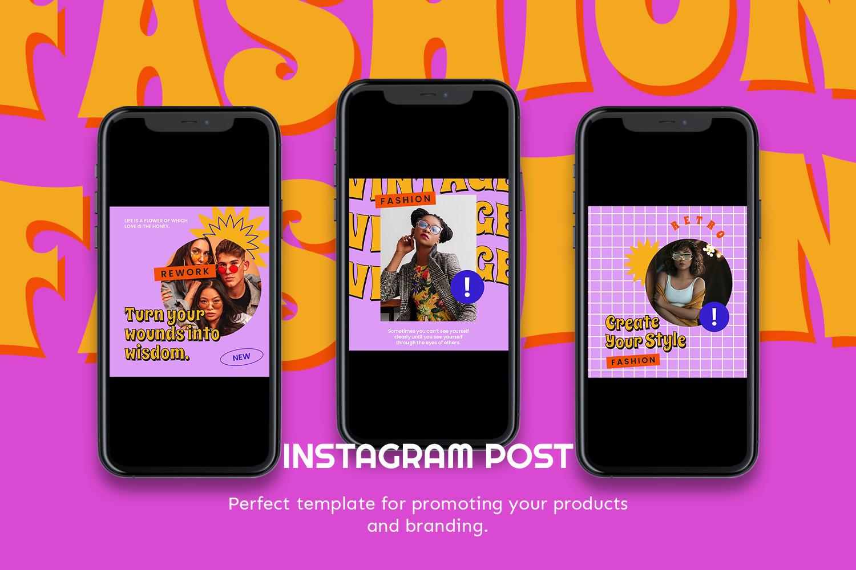 Horinima Instagram Template