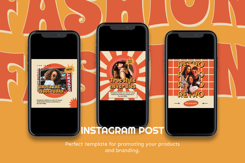 Juonime Instagram Template