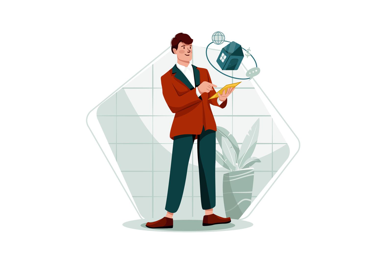 M343_Real Estate Property Illustrations