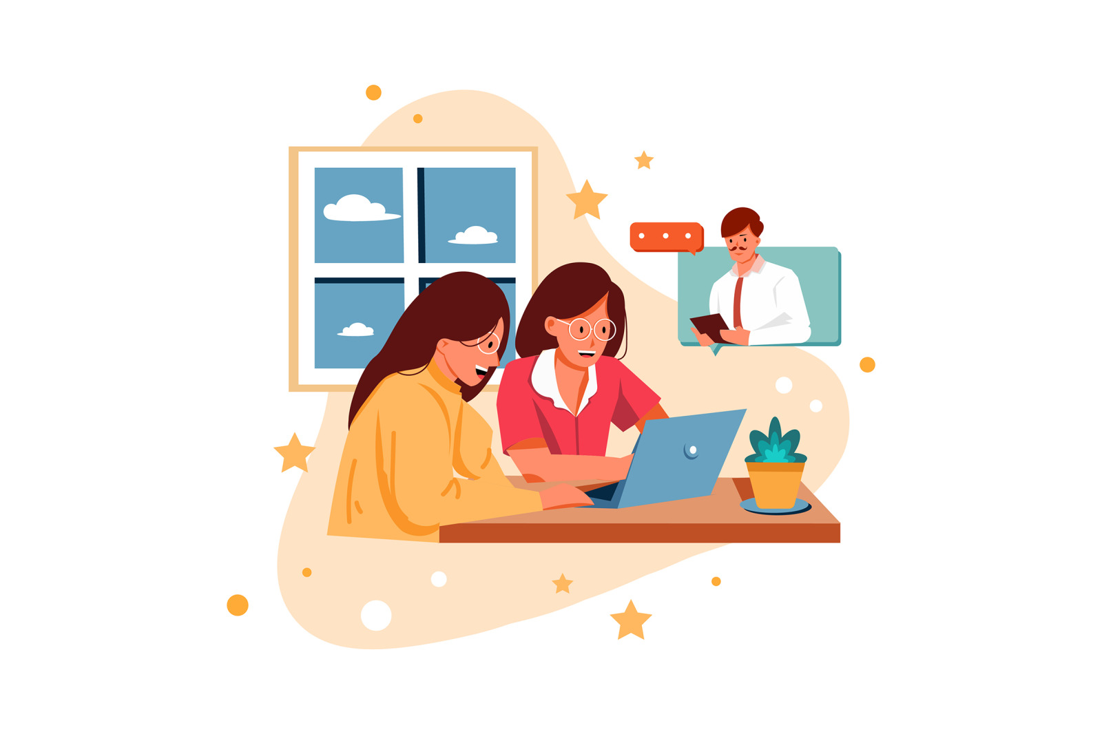 M342_Work from Home Illustrations