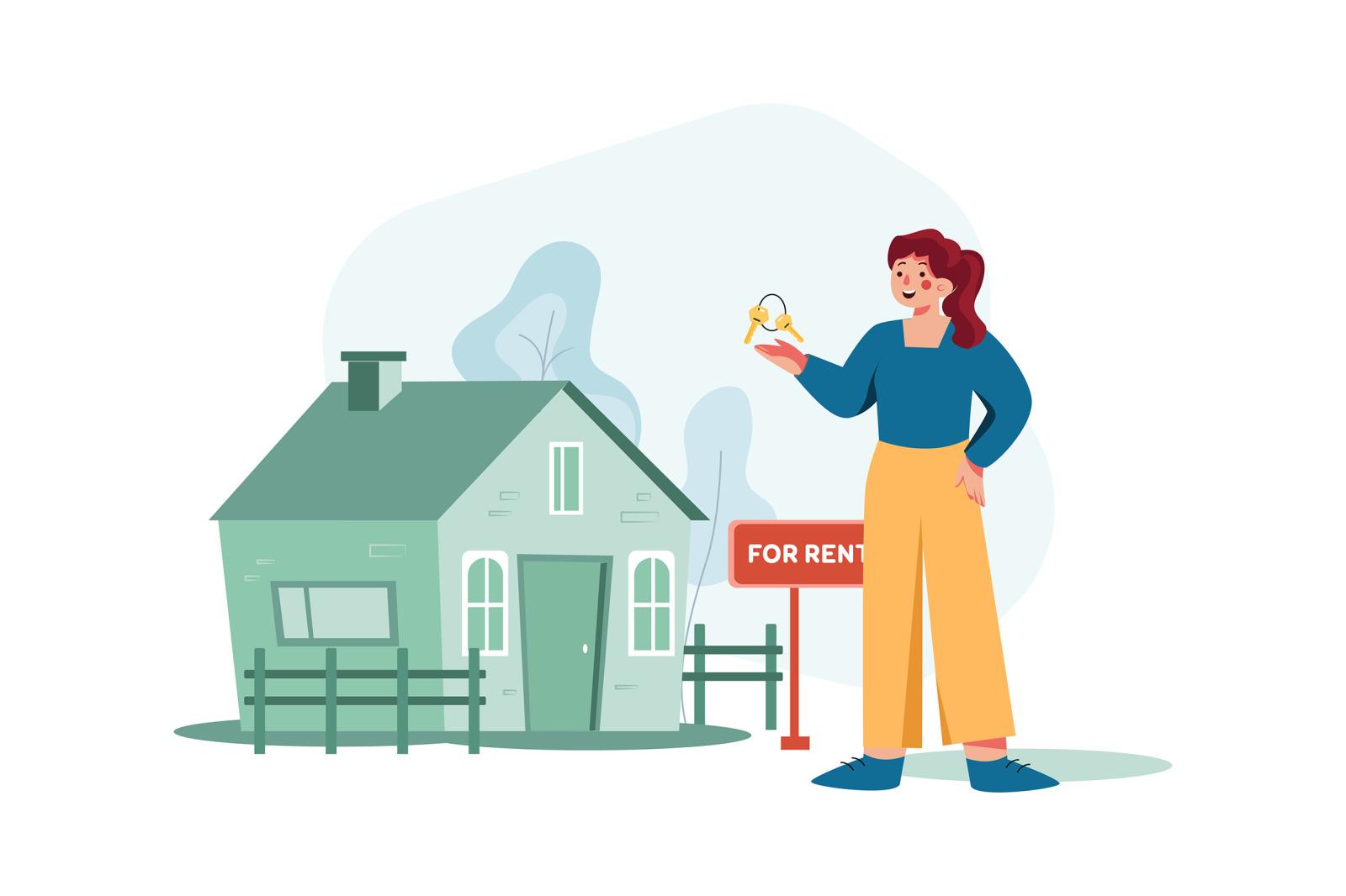 M344_Real Estate Property Illustrations