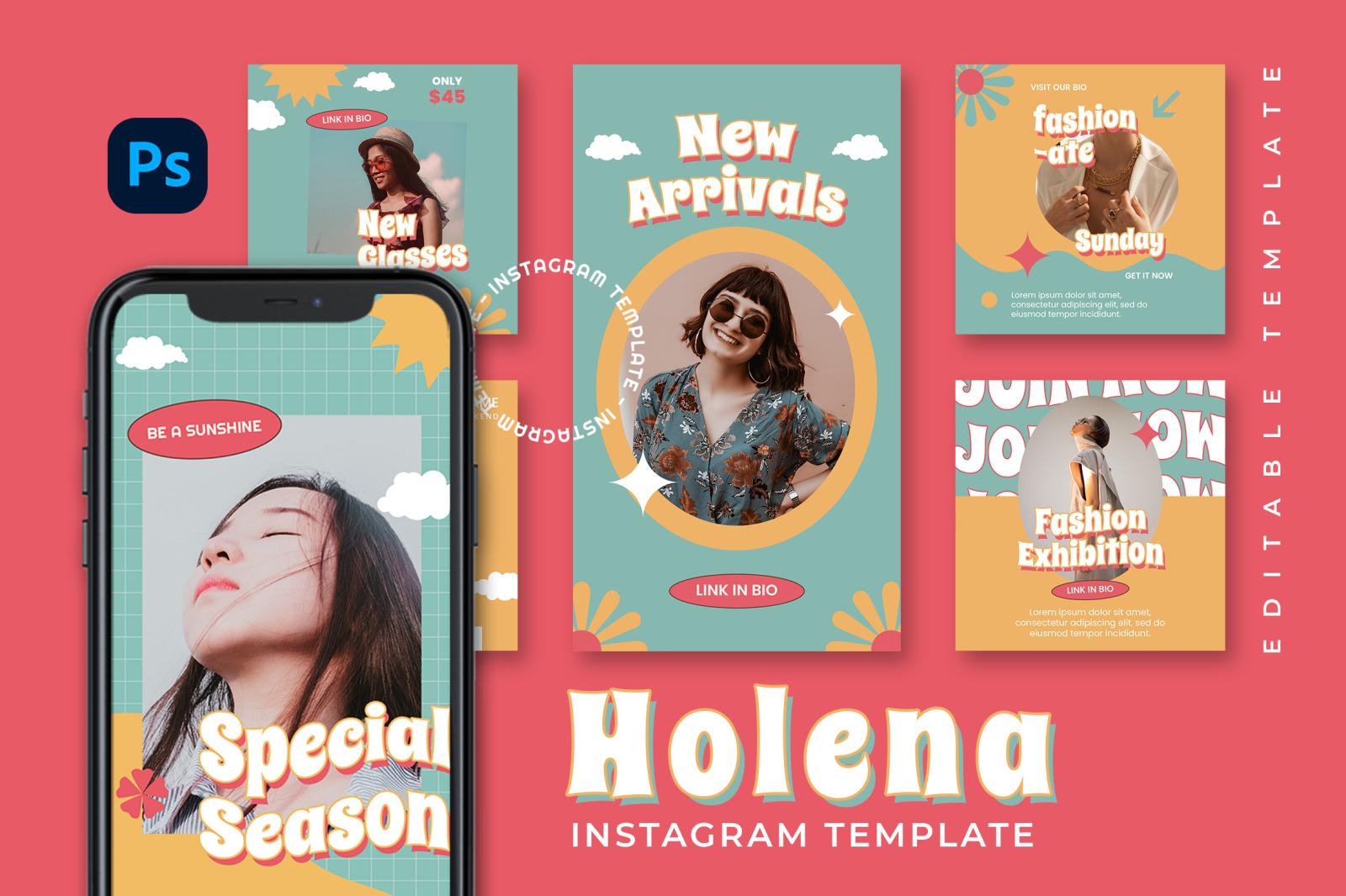 Holena Instagram Template
