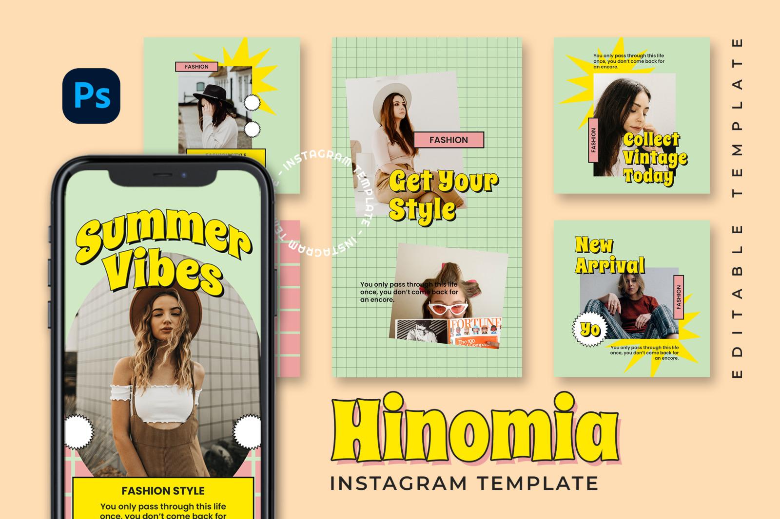 Hinomia Instagram Template