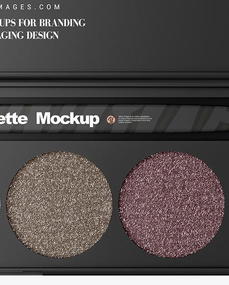 Eyeshadow Palette Mockup