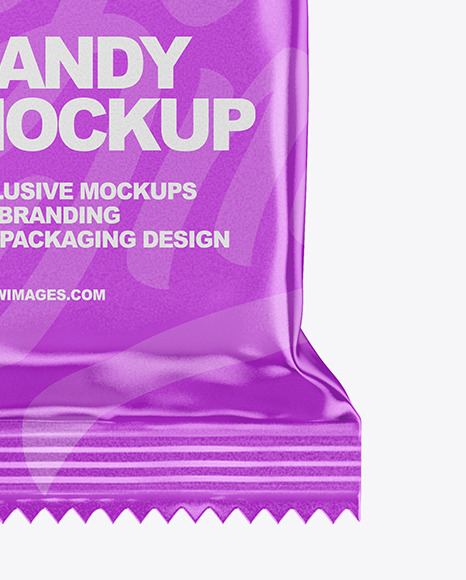 Metallized Candy Pack Mockup