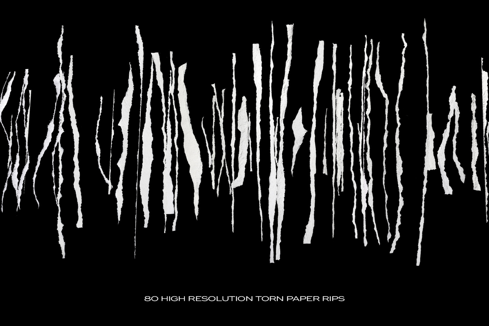 Ripped Torn Paper Transparent Rips Bundle