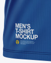 Men's T-Shirt Long Sleeve Mockup