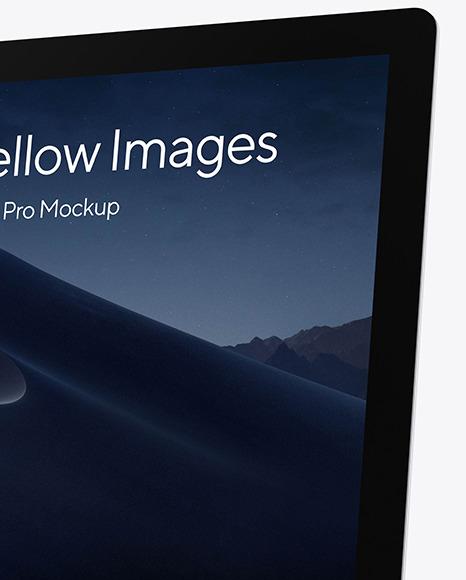 iMac Pro Silver Mockup