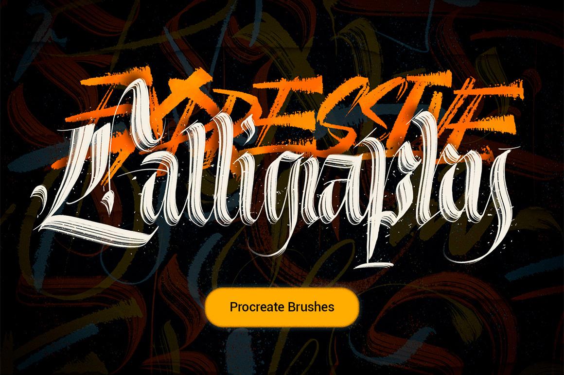 MegaPack for lettering and digital calligraphy