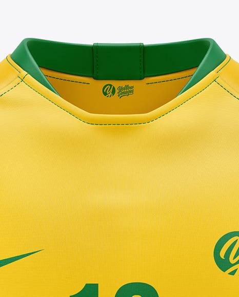 T-shirt Soccer Mockup