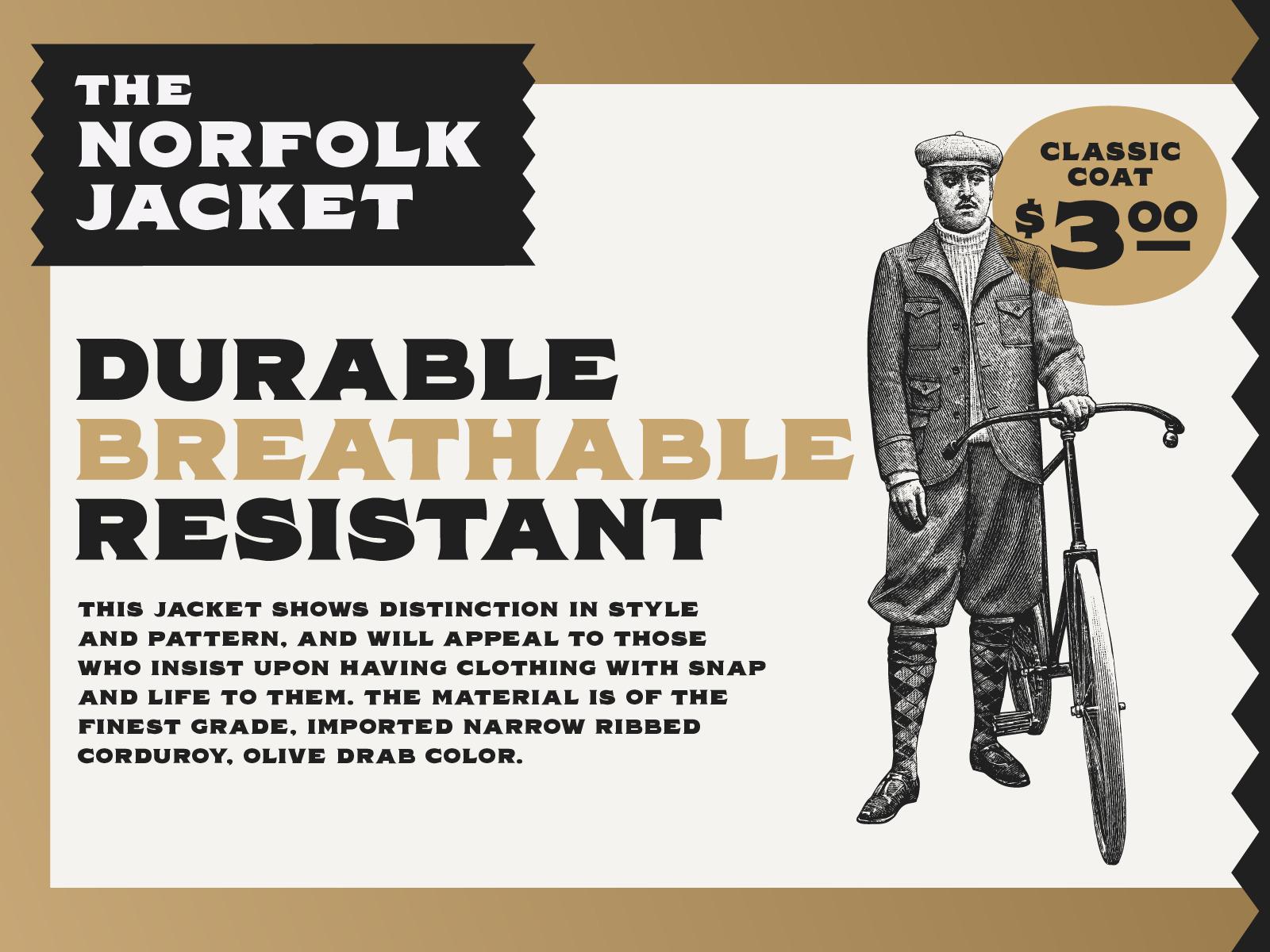Norfolk - Vintage Display Font