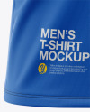 Men's Pocket T-Shirt - Front Half-Side View